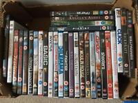 Lots of DVDs to choose 50p each can post