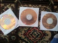 3 X Windows XP Home Disks