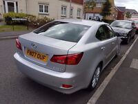 2007 LEXUS IS 220D SE 174 BHP £2950 ono