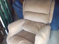 electric recliner armchair