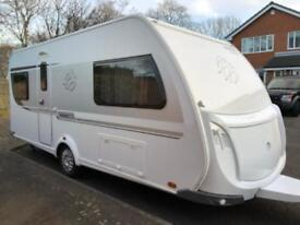 4 berth fixed bed 2016 Knaus subwind. In excellent like new condition