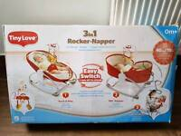 3 in 1 baby napper rocker