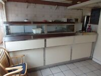 2 pan Frying range and other equipments for sale