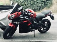 Kawasaki ER-6F red and black - excellent condition