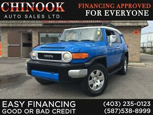 2007 Toyota FJ Cruiser V6 4x4 Off Road Tire,Backup Sensor,Cruise