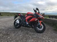 Kasawasaki Z1000SX in Orange only 269 Miles from new