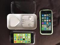 iPhone 5C EE / Virgin green Immaculate Condition