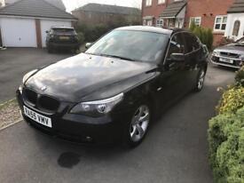 BMW 5 series auto (55 plate )