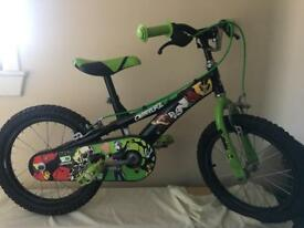 """Boys 16""""inch Ben 10 bike"""