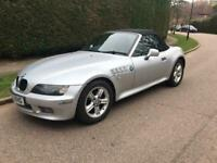 BMW Z3 CONVERTIBLE 1.9 5/SPEED 2001 SILVER METALIC