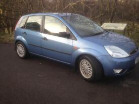 FORD FIESTA GHIA 1.6,2003,ONLY 78000 MILES,MOT OCTOBER,£550!