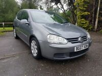 Volkswagen Golf 2.0 SDI ( UP TO 60 MPG ), DIESEL, MANUAL. 2007 Next MOT due 05/12/2018,