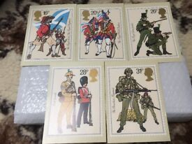 THE BRITISH ARMY PHQ CARDS MINT SET 1983 FREEPOST