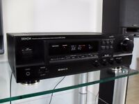 DENON DRA-275RD Receiver (tuner/amplifier) with Phono input