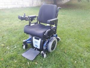 Excellent Condition Power Wheelchair - Used Few times Only - Comes with Portable charger
