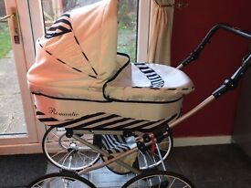 Kunert professional pram and car seat for sale in bransholme hull for 130 pounds ono