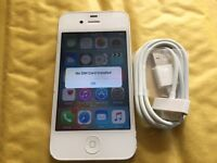 iPhone 4S 16GB WHITE ( O2, GIFFGAFF AND TESCO)