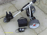 ELECTRIC GOLF TROLLEY COMPLETE WITH BATTERY AND CHARGER
