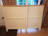 Beautiful cream cot bed from John Lewis. Been used, but in very good condition.