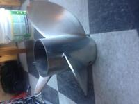 Stainless Steel Boat Prop