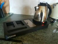 Corby kettle with storage base