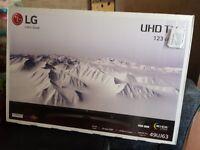 LG 49 INCH ULTRA HD 4K Ultra HD HDR Smart LED TV - Brand new in box