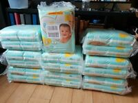 Pampers size - 2 ..... 4-6kg .....9-18 lbs