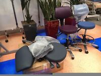 Job Lot 3 x Office Chairs/ Operators Chair/Treatment room Chair