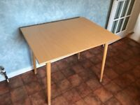 small kitchen table 90cm by 70cm; 75cm tall