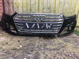 Genuine Audi S5 2017-2018 Full Front Bumper *Not Damaged*