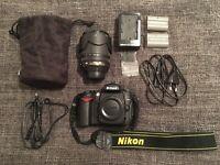Nikon D90 12.3MP Digital SLR Camera - Black (Kit w/ AF-S DX 18-105mm Lens) & Lowepro EX-160 bag