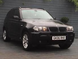 BMW X3 new mot 3.0 Diesel M sport automatic