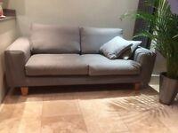 Grey John Lewis large 2 seater sofa