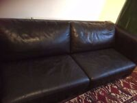 Large Leather Sofa FREE to collect TODAY from Harrow