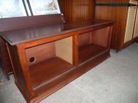 Tv Storage Wooden Unit Delivery available £10