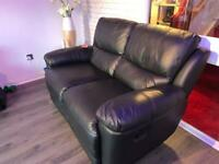 3 + 2 Leather recliner suites