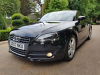 AUDI TT 2.0 TFSI LOW MILES 84000 FULL SERVICE HISTORY LONG MOT PERFECT CONDITION, RED LEATHER SEATS