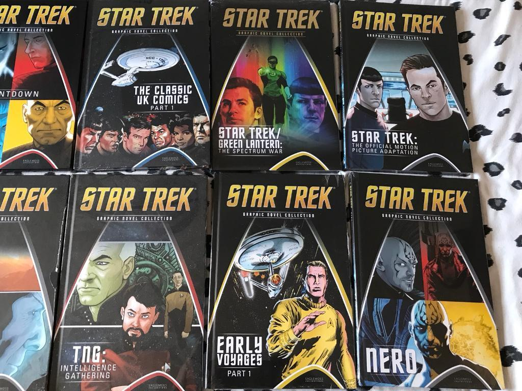 Star Trek hardback books
