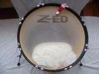 "22"" hybrid bass drum"