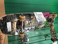Skateboard with Tensor SLD trucks!