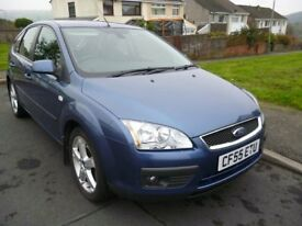 Preowned Blue Ford Focus Ghia TDCI 2.0 (47,054 miles)