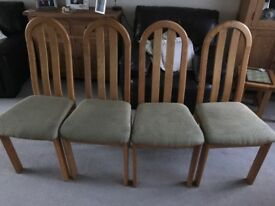 4 x Dining Table Chairs