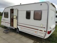 Sterling Eccles Onyx 4 berth 2001 end fixed bed Caravan