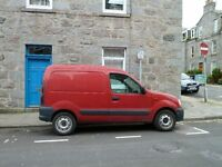Small van and man for hire - very competitive rates.