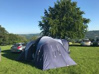 Vango Diablo 400. Great family tent - sleeps 4 very comfortably with big living and storage spaces.
