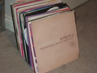 """125 x 12"""" House / Dance Vinyl Records Collection. 1990 - 2000's"""