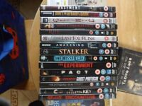 Dvd'd Bundle over 200 Dvd's,80p each, 15 for £10 or Complete Bundle for £120
