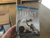 BBC The Hunt nothing is certain BLU RAY presented by David Attenborough