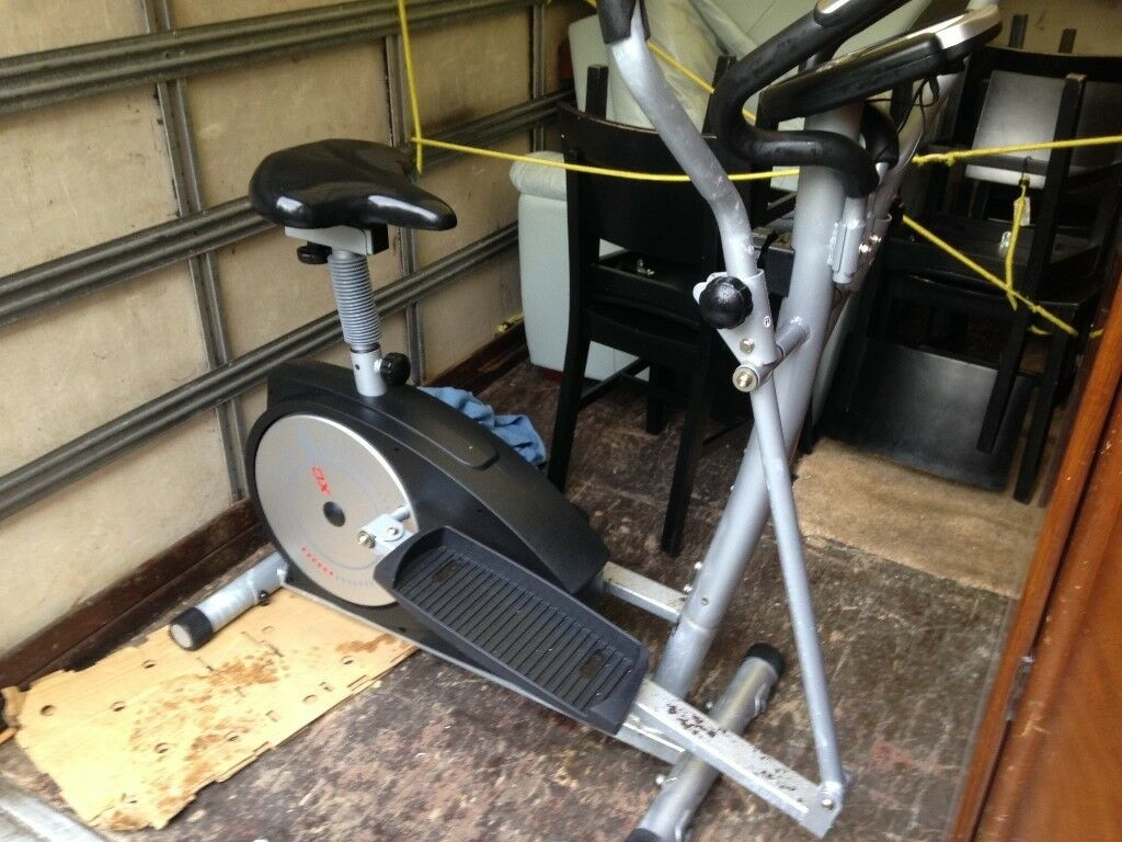 YORK XC530 2 IN 1 CROSS TRAINER AND EXERCISE BIKE IN USED CONDITION FREE LOCAL DELIVERY
