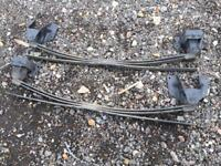 Ford transit mk7 rear springs pair Luton , truck